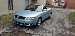 2003 Audi A4 convertible Pretty Cabriolet  3L V6@NEGOCIABLE@