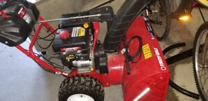 """Troy Bilt 28"""" Immaculate Cond. ALL OPTIONS Snow Blower"""