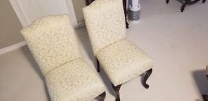 2 Bombay Dining Chairs for sale