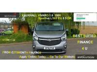 2018 Vauxhall Vivaro 1.6 CDTi 2900 Sportive L2 H1 EU6 5dr, 38K, -1 OWNER, FSH, I