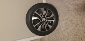 Rims and snow tires for a Honda Civic 5 bolt pattern