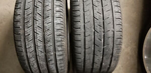 2X   245/40R17 Continental CONTIPROCONTACT