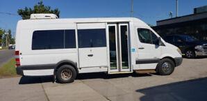 2011 Side Entry Mercedes Sprinter Wheelchair Accessible Van