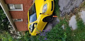 2008 yellow Pontiac G5
