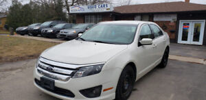 2012 FORD FUSION SE, TWO SETS OF TIRES AND RIMS 4 CYL, SAFETY