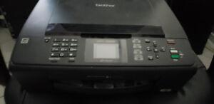 Brother Printer (wifi print + scan + copy + fax) MFC-J265W