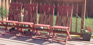 Jutlandia Wooden Deck Patio chairs