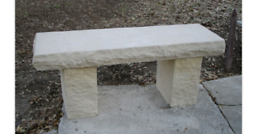 100% natural stone Benches ect