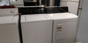 washer and dryer for set
