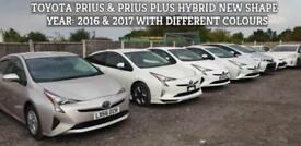 "Toyota Prius 1.8 2017(66) Hybrid New Shape ""FRESH PCO READY"" Euro 6 (BIMTA)"