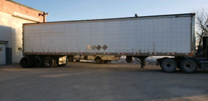 Trailers and sea cans and dump trailers for sale
