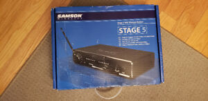 Samson headset wireless  microphone