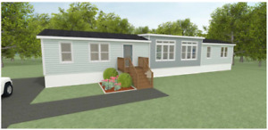 Build a mini home brand new for $361.00 bi-weekly.