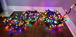 Outdoor Multi-Coloured Christmas Lights