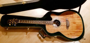 Selling Takamine Ef508KC All- Koa acoustic- electric guitar
