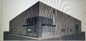 New 9600 sq/ft building currently under construction.