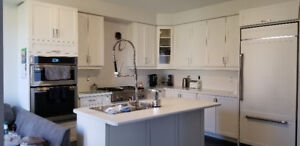 White Kitchen for sale with Quartz countertop! Mint Condition