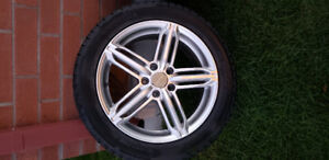 """17"""" winter wheels for Audi A4"""