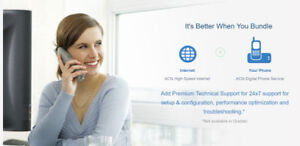 Get residential Internet and home telephone service for free