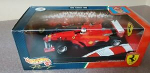 FERRARI F399 FIAT 1999 M. SCHUMACHER 3 F1 HOT WHEELS 1/18 DIE CA