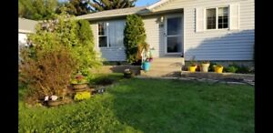 Single-family detached home with fully renovated basement