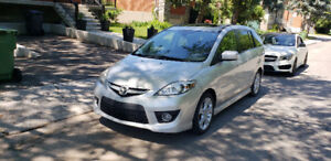 Mazda 5 2008 GT cuir automatique , mags,toit!!