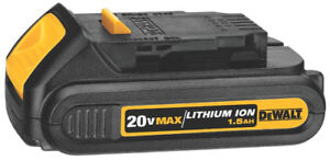 Brand New Dewalt 20V Max 1.5AH Compact Lithium Ion Battery Pack
