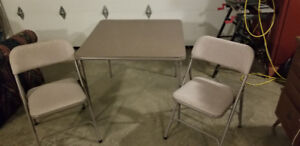 Card Table & 4 Chairs