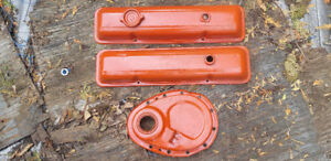 1955 to 1986 SBC V8 Valve Covers. Timing Chain Cover. $60