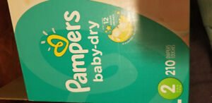 Pampers baby dry size 2- 120 of them