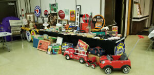 Collectables for sale.