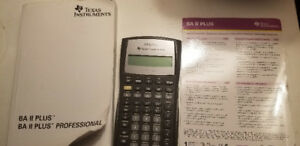 Texas Instrument Calculator BA II Plus