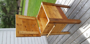 Ice Box .....reclaimed wood Oyster Creek Furniture