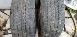 Two 205/55R16 Micheline X-Ice xi3