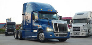 2015 Freightliner Cascadia Evolution, Tripac APU, Michelin Tires