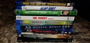 Movies (bluray or dvd)