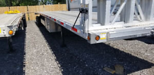 Flatbed trailer for sale, lease takeover - Brand new, never used