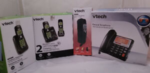 Vtech Corded and Cordless Phones