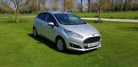 2014 (64) Ford Fiesta TITANIUM ECONETIC TDCI 5 DOOR ONLY 26,000 MILES IMMACULATE