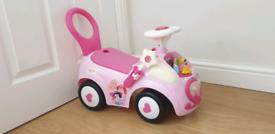 Disney princess ride on (makes sound and light up)