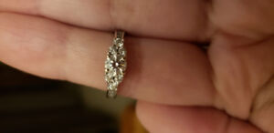 Canadian Diamond Ring for sale