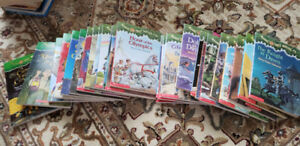 Books - Magic Tree House, etc