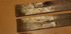 Vieilles Planches de grange à donner en échange de la démolition
