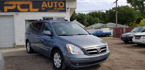 2008 HYUNDAI ENTOURAGE!NO ACCIDENT!1 OWNER! DVD! LEATHER 7 SEATS