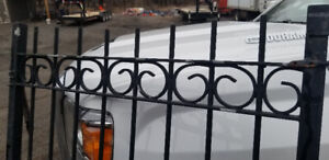 Iron fence for sale