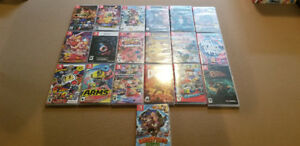 Collection 19 Switch Games Mario Doom Mario Kart Arms Bomberman