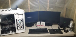 CUSTOM BUILT GAMING MACHINE & 2 NEW SSD & EXTRAS!!! $2500 OBO