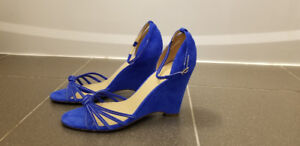 J.Crew Ready-Or-Knot Suede Wedges