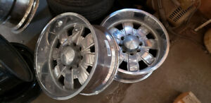 USA Forged 20x10 Inch Rims 8x165.1 (NEED REFINISH)