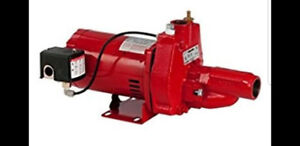 RED LION RJC 75  convertible jet pump 115/230v. 3/4hp 18gpm